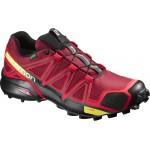 SALOMON boty Speedcross 4 GTX brique-X/red/black