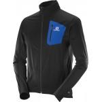 b2cdde2ec64 SALOMON bunda Equipe Softshell M black blue 16 17