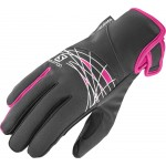 SALOMON rukavice Thermo W black/pink 16/17