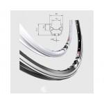 MACH ráfek silnič.700C RJ Project silver 32H + nýt