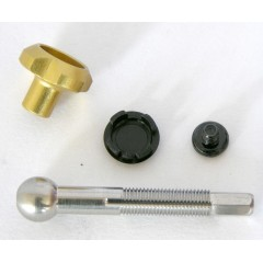 FORMULA Kit regulace vzdálenosti páčky od řídítek R1, The One 10, zlatý  2011