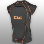TSG chrániče - Backbone Vest D3O Black Orange (114)