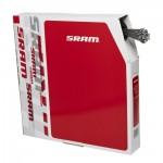 SRAM 1.1 ocelová řadící lanka 2200mm, balení 100ks Box