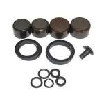 SRAM Caliper Piston Kit (includes 2-16mm & 2-14mm Aluminum caliper pistons, seals & O-rings) -