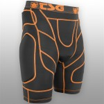 TSG kalhoty - Crash Pant D3O Black Orange (114)