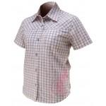 IXS Košile DERBY bílá, krátká, bavlna, dámská 2010