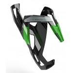 ELITE košík na láhev Custom Race Plus černo/zelený