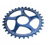 RACE FACE převodník SINGLE Direct Mount, N/W 30T 10/11SPD modrá