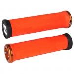 ODI Gripy MTB Elite Motion Lock-On oranžová