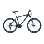 "LEADER FOX MTB 26"" 16 Factor 14"" grey matt"