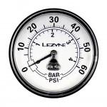 """LEZYNE tlakoměr náhradní 2,5"""" pro velké pumpy, 220"""