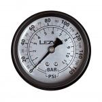 """LEZYNE tlakoměr náhradní 1,5"""" pro velké pumpy, 160"""