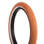 VANS Plášť BMX CULT classic gum/bílý bok/červený pruh