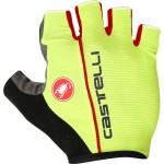 CASTELLI pánské rukavice Circuito, yellow fluo/red
