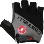 CASTELLI pánské rukavice Adesivo, black/anthracite
