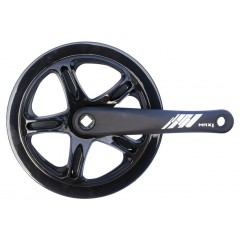 MAX1 kliky 1-převodník single 46z/175mm černý,kryt