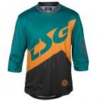 TSG Dres AK1 LS 3/4 black/green
