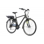 "LEADER FOX Trek 28"" 16 E-Forenza Gent 13Ah 19"" black matt"