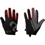 HQBC rukavice Redfing černo/červené