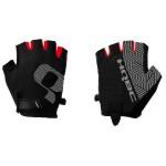 HQBC rukavice Mesh černo/červené