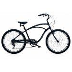 ELECTRA Cruiser Lux 7D Men's Matte Black 2017