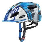 UVEX přilba 17 Quatro junior blue/silver 50-55