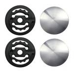 MANGO Montážní kit pro visor, stříbrný