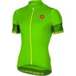 CASTELLI pánský dres Entrata 2 FZ, pro green