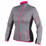 ETAPE dámský dres LISSA, šedá melír/růžová