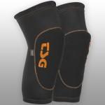 TSG Chrániče kolen 2nd Skin D3O černá/oranžová