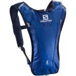 SALOMON batoh Agile 2 set surf the web/lime/dress blue