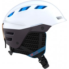 SALOMON lyžařská helma MTN LAB white/plum perfect L 17/18