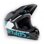 BLUEGRASS helma INTOX 2017 černá/modrozelená/bílá