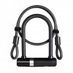 AXA zámek Newton Mini 150/14 + kabel 100/8 klíč černá