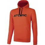 ATOMIC mikina Alps hoodie bright red 17/18