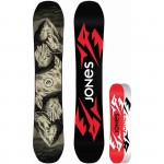 JONES snowboard - Ultra Mountain Twin Black (BLACK)