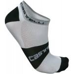 CASTELLI pánské ponožky Lowboy, white/black