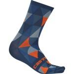 CASTELLI pánské ponožky Fausto, multicolor/blue