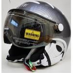 KASK lyžařská helma Elite PRO light carbon/white 59cm