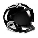 KASK lyžařská helma Style black/white 62cm