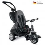 PUKY Dětská tříkolka CAT S6 Ceety s vodící tyčí černá