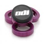 ODI Objímky ke gripům MTB Lock-On Al fialové