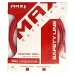 MAX1 bovden brzdový s teflonem 5mm červený