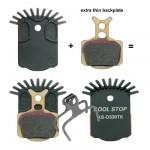KOOL STOP Destičky brzdové Aero-Pro FORMULA Mega / The One / R1 / RX / RO