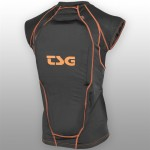 TSG chránič - Backbone Vest D3O Black Orange (114)