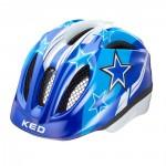 KED přilba 16 Meggy modré hvězdy S-M/49-55cm