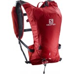 SALOMON batoh Agile 6 set barbados cherry/graphite