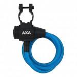 AXA zámek Zipp 120/8 klíč modrá