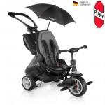 PUKY Dětská tříkolka CAT S6 Ceety, City Premium černá