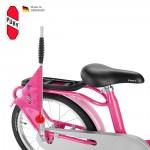 PUKY Bezpečnostní vlajka na koloběžky/ kola růžová